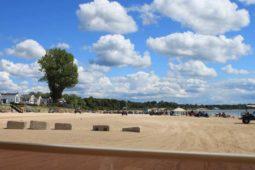 Sherkston Shores RV Resort Beach Side View